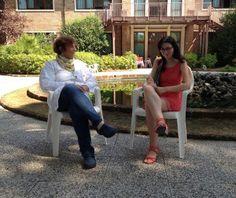 La dottoressa Mara Angela Mascherpa con la nostra Alessia. Leggi l'intervista http://www.riccionesocialclub.it/interviste/riccione-terme