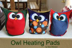 Sew Blessed: Heating Pad Owls
