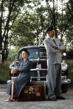"""Driving Miss Daisy""...Jessica Tandy & Morgan Freeman"