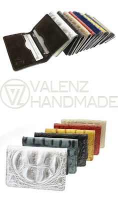 This leather wallet is so beautiful and high-quality!