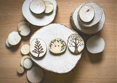 Brošňa - gombík - brošňa by elahop - SAShE. Coasters, Handmade, Crafts, Inspiration, Biblical Inspiration, Hand Made, Manualidades, Coaster, Handmade Crafts