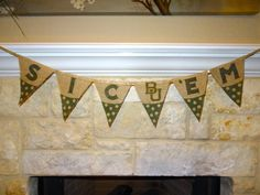 Sic 'Em Printed Burlap Banner by TheCraftyAggie, $25.00 #Sic'Em #Bears #Baylor #Tailgate #Football