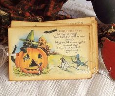 It's Halloween.... And a Poem Too... Pumpkin by SweetlyScrappedArt