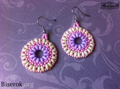earrings - Russian tutorial with pictures