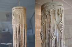 macrame lamp shades