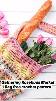 Crochet Handbags, Crochet Purses, Crochet Hooks, V Stitch Crochet, Free Crochet, Knit Crochet, Crochet Designs, Crochet Patterns, Be Organized