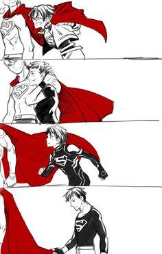 superboy 2015 fan art - Google Search