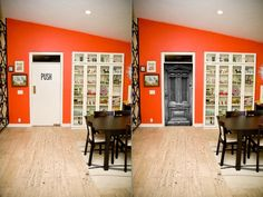 true doors (door stickers) are decals that have been created from a picture of an actual door. Each decal is tailor made to the dimensions (width and height) of the door for which it is intended. Decal, Sticker, Door Makeover, Doors, Table, Furniture, Home Decor, Decoration Home, Room Decor