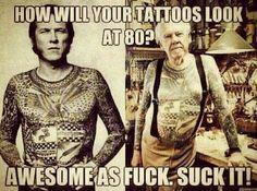 #tattoo #inked #old #future