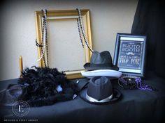 Gatsby Décoration Event Gatsby Wedding Gatsby Soirée Gatsby Mariage Gatsby Thème Gatsby Les années folles Photobooth