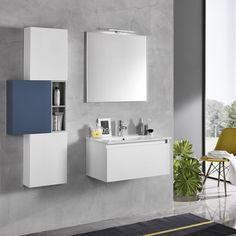 TFT Ibiza Bathroom Set, Blue | ACHICA