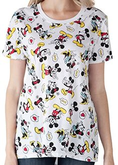 e1ac5c9f7 #ad #disney Disney Womens Plus Size T-Shirt Mickey & Minnie Mouse