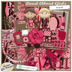 Loud About Girls by Designs by Romajo