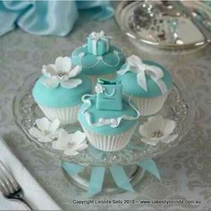 Tiffany cupcakes                                                                                                                                                      Mais