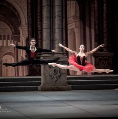 Natalia Osipova and Ivan Vasiliev in Don Quixote