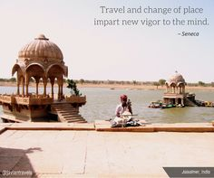 """""""Travel and change of place impart new vigor to the mind."""" -Seneca #travelquotes #TravelJavian"""