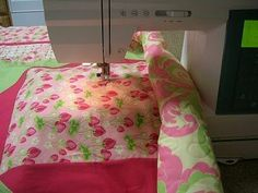 Simple yet informative quilting tutorial for home quilting. I am so happy I found this.
