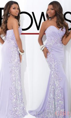 Prom Dresses, Celebrity Dresses, Sexy Evening Gowns at PromGirl: Strapless Sweetheart Gown by Le Gala