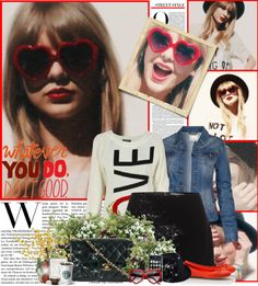 """""""Taylor Swift - Red"""" by sunnygirl57 ❤ liked on Polyvore"""