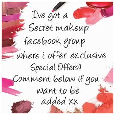 Younique facebook VIP group post www.youniqueproducts.com/aimeemccue ✿⊱╮