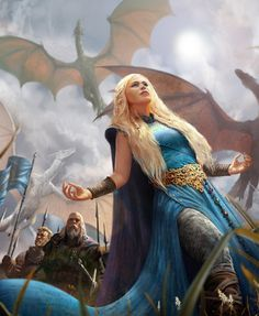 Dany, mother of dragons - A Song of Ice and Fire #got #agot #asoiaf