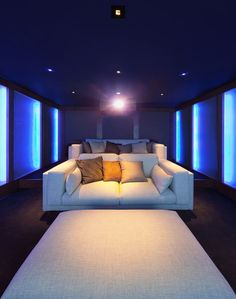 Top 70 Best Home Theater Seating Ideas - Movie Room Designs Home Theater Room Design, Home Cinema Room, Best Home Theater, Home Theater Rooms, Home Theater Furniture, Home Cinema Seating, Media Room Seating, Small Home Theaters, Dubai Miracle Garden