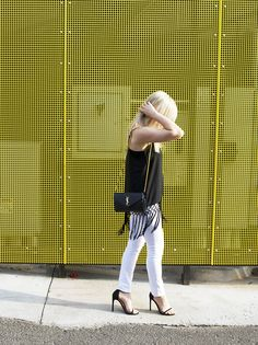 black fringe tank an