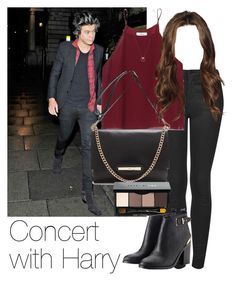 """REQUESTED: Concert with Harry"" by style-with-one-direction ❤ liked on Polyvore featuring Topshop, Wilfred, Bobbi Brown Cosmetics, Lipsy, Whistles, OneDirection, harrystyles, 1d and harry styles one direction 1d"