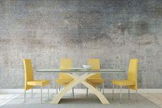 SURFACE SIMULATION | GROEN BESPOKE WALLPAPER Bespoke, Dining Chairs, Surface, Stone, Wallpaper, Inspiration, Furniture, Home Decor, Dinner Chairs