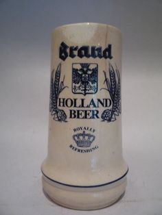Vintage Holland Brand Beer Mug Stein Handmade by TroveMagpie