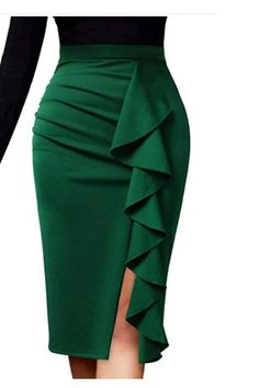 Pencil Skirt Dress, Pencil Skirt Outfits, Pencil Skirts, Short African Dresses, Latest African Fashion Dresses, Classy Work Outfits, Classy Dress, Office Outfits, Stylish Dresses