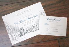Ballymagarvey Village Invitations for Andrew & Celine Irish Wedding, Wedding Story, Wedding Stationery Inspiration, Wedding Inspiration, Winter Wedding Invitations, Celine, Drawings, Sketches, Sketch