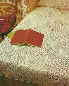 Thread Crochet Solweig'S Heirloom Bedspread