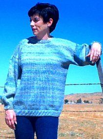 Easy No Sew Sweater | AllFreeKnitting.com Don't know if I saved this or not but I like it!