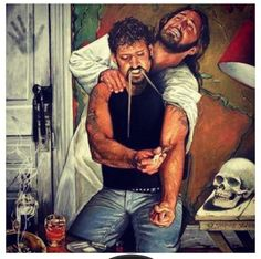 My daughter describes this picture as us not listening to God/Jesus. I think it also describes how we Hurt Jesus when we chose evil. What do you think? I thought this was pretty interesting. Religious Paintings, My Jesus, Jesus Today, Jesus Help, King Jesus, Jesus Pictures, Jesus Pics, Funny Pictures, Jesus Saves