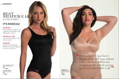 Ruby Ribbon's Radical Shapewear allows you to Ditch Your Bra! www.rubyribbon.com/karenmitura