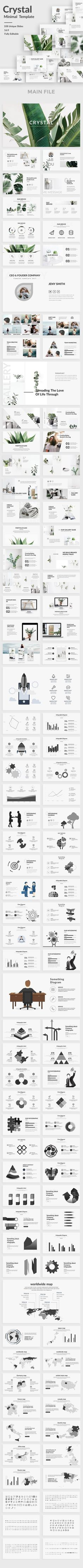 Crystal Minimal Powerpoint Template - Creative PowerPoint Templates
