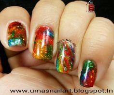 Squishy Rainbow | Uma's Nail Art