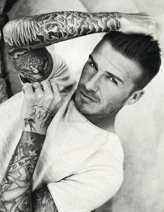 David Beckham by Doug Inglish