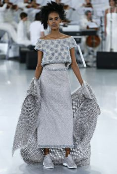 What Is Hot In Running. Spring 2014 Chanel Couture Running Shoes