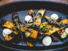 Chef José Garces shares one of his Thanksgiving recipe: carrots with an Argentinian twist.