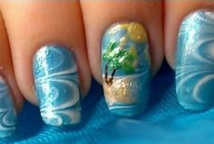 Water marble nail art is one of those nail art techniques that looks absolutely amazing! It may look like it takes tons of time and patience to get this look, but in reality, it's actually a relatively easy and quick nail art design to do once you get the hang of it. Water marble nails …