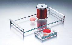 bandejas de vidro para banheiro - Pesquisa Google