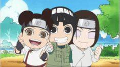 DeviantArt: More Like Render Naruto / Chibi TenTen, Rock Lee y Neji by gamazor Naruto Sd, Anime Naruto, Naruto Teams, Naruto Cute, Manga Anime, Naruto Comic, Kakashi Hatake, Naruto Uzumaki, Neji And Tenten