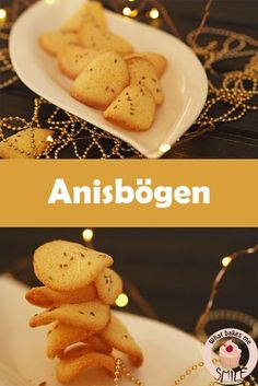 Anisbögen - * what bakes me smile * Christmas Baking, Christmas Cookies, Low Carb Crackers, Biscuit Cookies, Diy Cake, Cake Recipes, Food And Drink, Favorite Recipes, Sweets