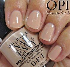 OPI Samoan Sand Nail Polish Swatches // Nail Envy Colors Collection