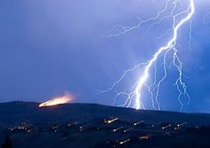 Thanks to our Facebook fan Matthew Trowbridge for the cool shot of last night's storm in Wenatchee!
