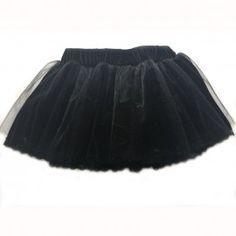 Fusta catifea si tul cu bordura din dantela neagra Girl Outfits, Tulle, Ballet Skirt, Velvet, Satin, Silk, Elegant, Skirts, Cotton
