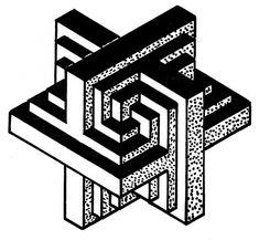 graph paper drawings mandala simple illusion math geometricism occult draw geometric shapes pattern