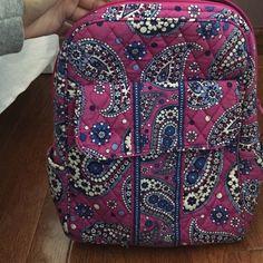 Vera Bradley backpack Hardly used. Great condition! Vera Bradley Bags Backpacks